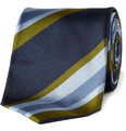 Drake's - Striped Silk Tie