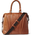 WANT Les Essentiels de la Vie Charleroi Leather Holdall Weekend Bag