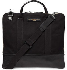 WANT Les Essentiels de la Vie Heathrow Cotton Canvas Messenger Bag