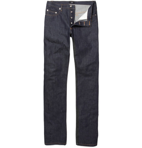 A.P.C. New Cure Slim Rigid Jeans