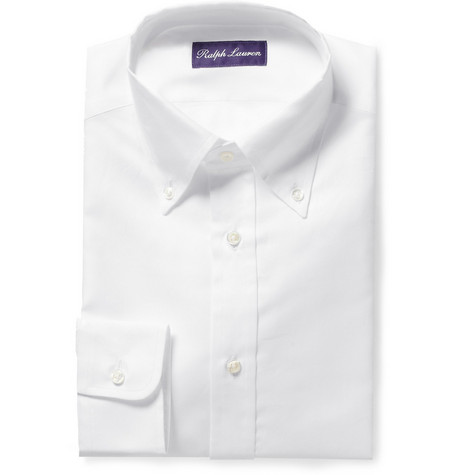 Ralph Lauren Purple Label Button-Down Collar Shirt