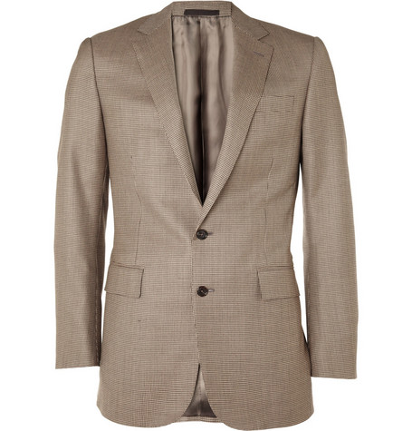 Ralph Lauren Black Label Anthony Cashmere-Blend Houndstooth Blazer