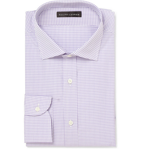 Ralph Lauren Black Label Bond Checked Cotton Shirt