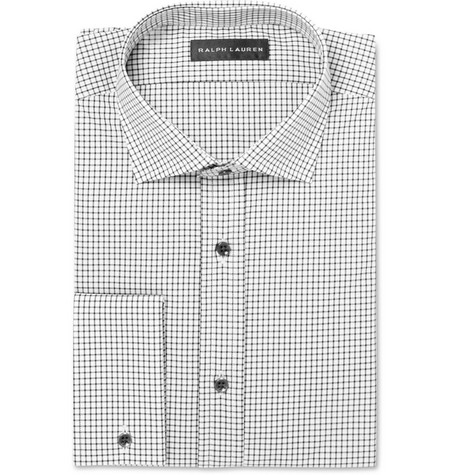 Ralph Lauren Black Label Checked Cotton Shirt