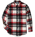 Polo Ralph Lauren Wool and Suede Checked Shirt