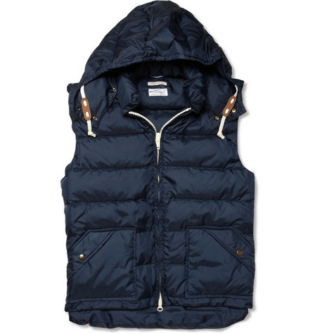 Gant Rugger Down-Filled Hooded Gilet