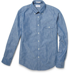 Gant Rugger Button Down Collar Chambray Shirt