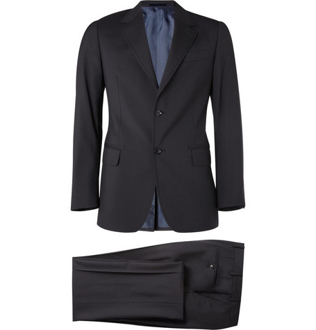 Lanvin Slim-Fit Wool Suit