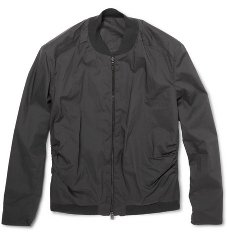 Lanvin Lightweight Cotton Bomber Jacket