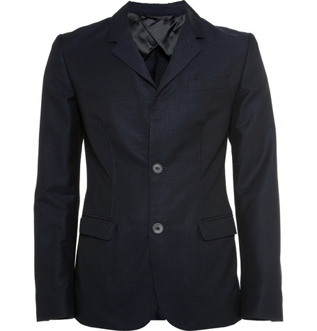 Lanvin Unstructured Cotton-Blend Suit Jacket