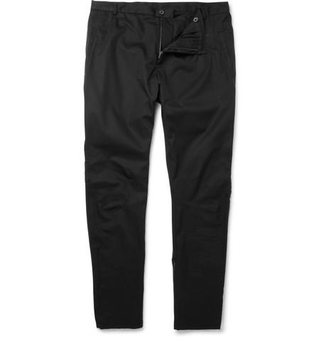 LanvinSlim Leg Cotton Trousers