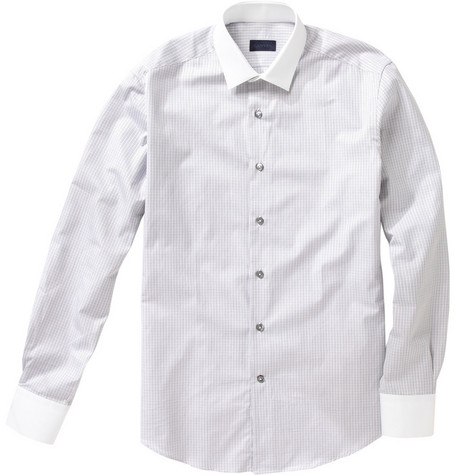 Lanvin Check Cotton Shirt