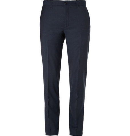 Etro Slim Fit Wool Suit Trousers