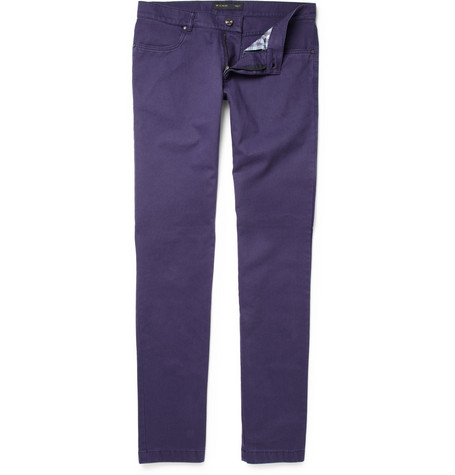 Etro Straight-Leg Cotton Jeans