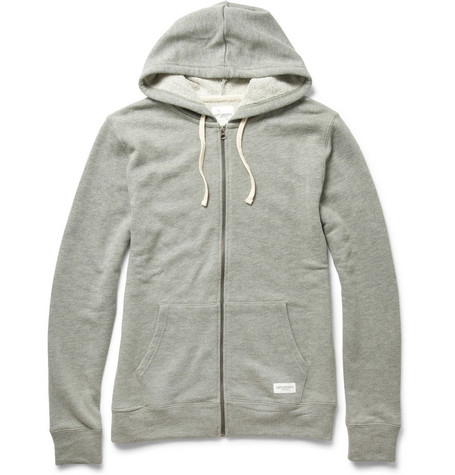Saturdays Surf NYC Zip-Up Hooded Sweatshirt