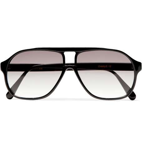 Simon Spurr Charlie Square Frame Sunglasses