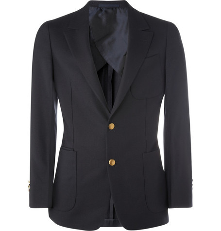 Yves Saint Laurent Classic Wool Blazer