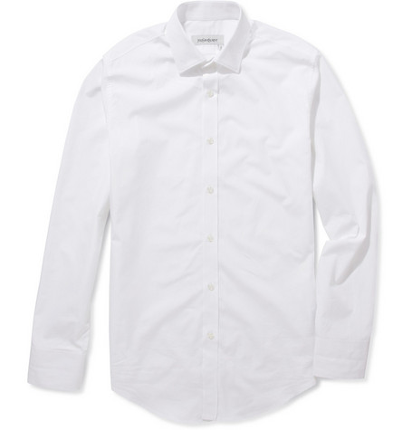 Yves Saint Laurent Slim-Fit Cotton Shirt