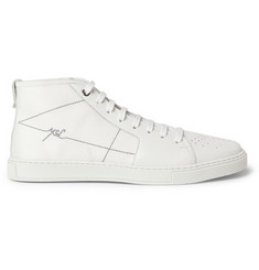 Yves Saint Laurent Malibu Panelled High Top Sneakers