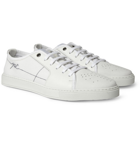 Yves Saint Laurent Malibu Panelled Leather Sneakers