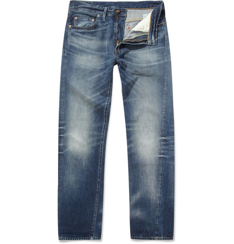 Levi's Vintage Clothing 1954 501 Tapered-Leg Selvedge Jeans
