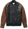 Levi's Made & Crafted - Two Tone Leather Varsity Jacket