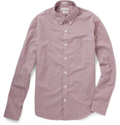 J.Crew Thomas Mason Gingham Check Shirt