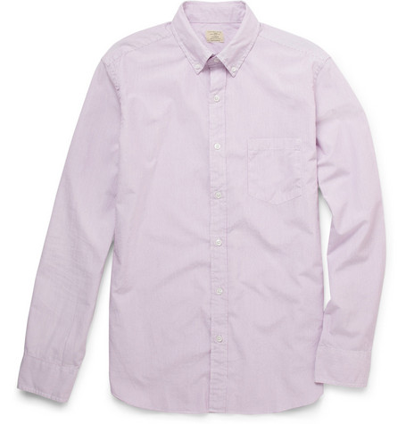 J.Crew Cybil Striped Button Down Collar Shirt