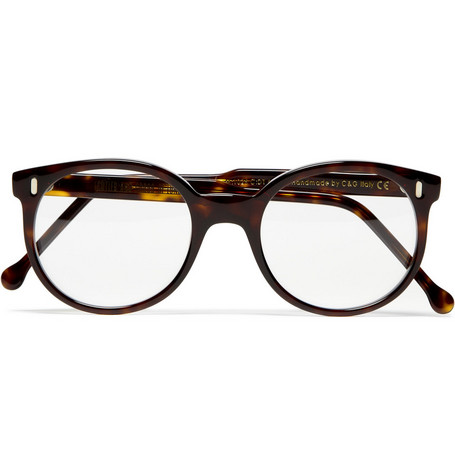 Cutler and Gross Round-Framed Tortoiseshell Optical Glasses