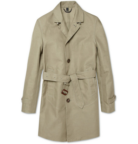 Burberry Prorsum Cotton-Blend Twill Trench Coat