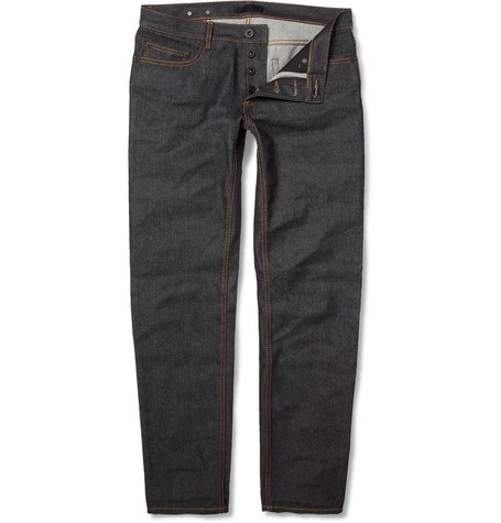Burberry Prorsum Slim-Fit Raw Denim Jeans