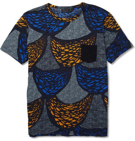 Burberry ProrsumPrinted Cotton Jersey T-Shirt