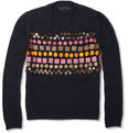 Burberry Prorsum - Wooden-Badge Cashmere Sweater