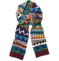 Burberry Prorsum Patterned Cotton-Blend Scarf