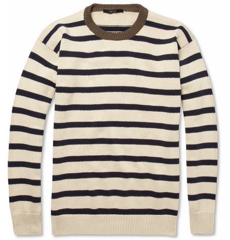 Gucci Striped Knitted Cotton Sweater