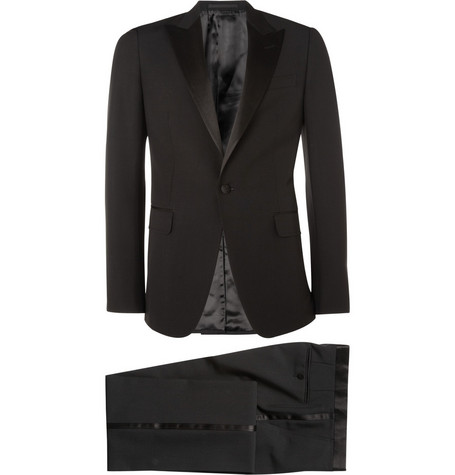 Gucci Satin-Trimmed Wool and Mohair-Blend Tuxedo Suit