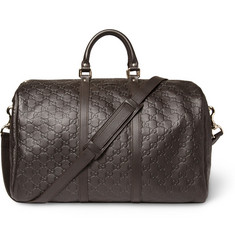 Gucci Joy Guccissima Leather Holdall