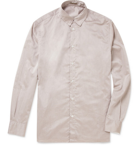 Bottega Veneta Washed Cotton Shirt