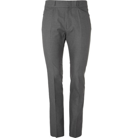 Alexander McQueen Tailored Slim-Fit Cotton Trousers