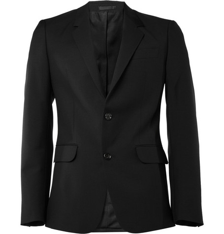 Alexander McQueen Slim-Fit Wool-Blend Suit Jacket