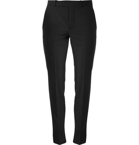 Alexander McQueen Slim-Fit Wool-Blend Suit Trousers