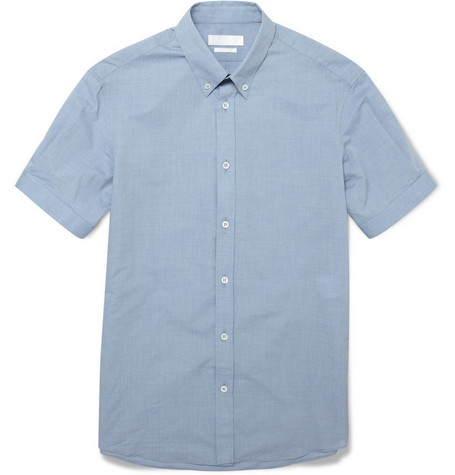 Alexander McQueen Short-Sleeved Cotton Shirt