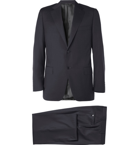 Canali Wool Travel Suit