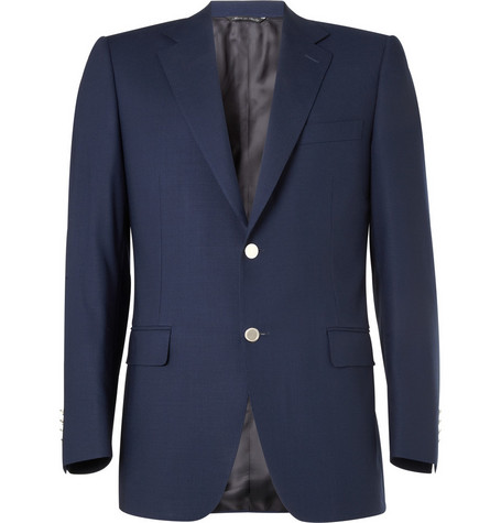 Canali Water-Resistant Wool Jacket