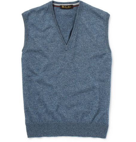 Loro Piana Silk and Cashmere-Blend Sleeveless Sweater