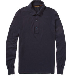 Loro Piana Long-Sleeved Polo Shirt