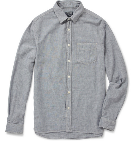 Woolrich Striped Chambray Shirt