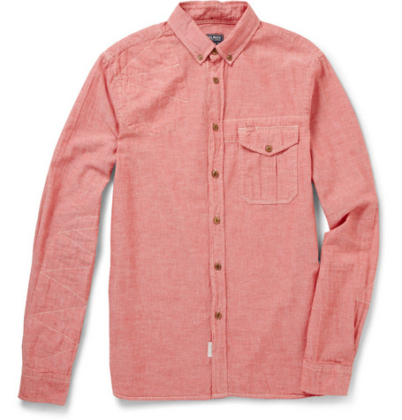 Woolrich Cotton-Chambray Shirt