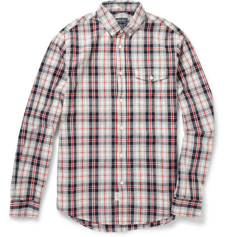 Woolrich Plaid Cotton Shirt