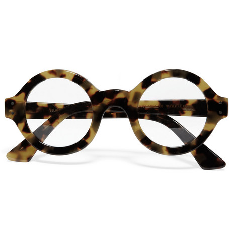 Selima Optique Round-Framed Tortoiseshell Optical Glasses